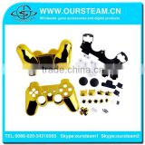 New arrival Chrome shell case for ps3 controller for playstation 3