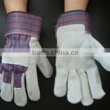 Hot sell high quality cow split leather working hand glove/working leather glove                                                                         Quality Choice