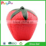 Partypro 2015 High Quality Promotion Item Wholesale PU Foam Custom Fruit Shape Stress Ball