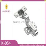 High quality stainless steel dismounting hydraulic hinge for various wood furniture doors
