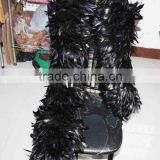 Full Fluffy coque feather Boa LZBYK28
