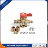 LPG filling valve kit for lpg single point system