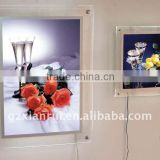 backlit LED Advertising acrylic photo frame