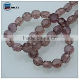 Wholesale 100pcs/strand Flat Round Faceted Crystal Beads For Jewelry Making 4mm Glass Bread Bead for Necklace Craft