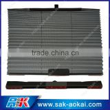 wholesale polyester pleated car curtain window sunshade
