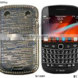 Chrome Metallic Case for Blackberry Bold Touch 9900.