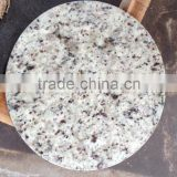 white rose round granite table top