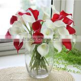 factory wholesale cheap artificial flower indoor decorative artificial calla Lily flower