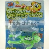 swimming frog bath toys