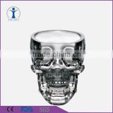 Modern 3D Crystal Skull glass cup Pirate Shot Glass Drink Cocktail skull Beer Cup                                                                         Quality Choice