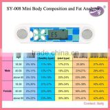 digital mini portable handheld body fat analyzer mini body fat analyzer