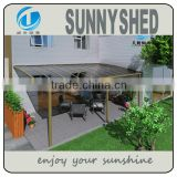 Better than trong canvas gazebo awning patio shelter made of aluminum frame and for awning