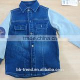 new jeans baby boy's or boy's denim long sleeve t-shirt