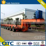 Heavy Duty Machine & Special Equipment Hydraulic Module Trailer 8 lines16 axles Girder Shift Trolley