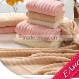 EAswet:China classical bamboo fiber towels, high quality,water wave bath towels