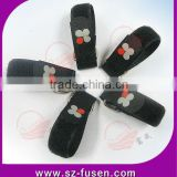 Customed logo Colorful plastic buckle magic tape bandage