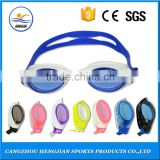 Factory direct custom diving swimming safety anti fog waterproof silicone underwater goggles for glasses