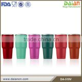 Custom double wall stainless steel powder coated tumbler                                                                         Quality Choice                                                     Most Popular