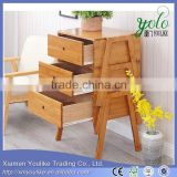 2016 modern design bamboo office desk side table bamboo side table