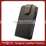Black Flip Leather Case Cover Pouch Film For Huawei Ascend Y210 U8685D