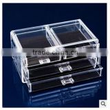 qingfang trade Octagonal Shape Plastic Jewelry Box with Leatherette Paper