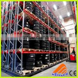 Warehouse storage stacking folding metal commercial tire rack,warehouse storage tire shelf,car removable roof rack