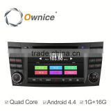 Ownice C300 Android 4.4 quad core navigation car GPS for Benz CLS350 CLS500 CLS55 support DVR TV 3G DONGLE AUX IN USB