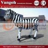 VGDW106-vivid zebra fiberglass animals for sale