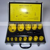 16 pieces Bi-metal Hole Saw Set with Aluminum Box