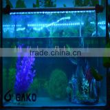 62CM 69LED blue submersible led wholesale aquarium light LED Flood Lamp Outdoor Spotlight Garden Landscape Waterproof