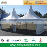White PVC aluminum frame pagoda tent for sale