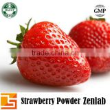 Organic freeze dried Strawberry fruit bulk juice powder