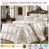 Single bed comforter/100% Duck down comforter/super king size down comforter