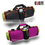 BUBM multifunction Wholesale logo printed Wear resistant high quality canvas yoga mat bag