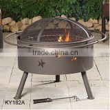 round charcoal grill,cast iron charcoal grill, safty heater