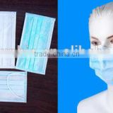 disposable 3ply face mask,top quality face mask, anti Dust and bacteria disposable 3ply face mask