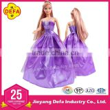 ICTI FACTORY DEFA CO. 8030 fashion online doll dress-up girl games with EN71/AZO/ASTM certifications