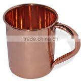 Manufacturer & Wholesaler of 100% Copper Moscow Mule Mugs & Cups and Tankard for VODKA MIXOLOGY