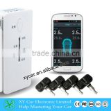 Bluetooth Tpms for Android&IOS mobile tire pressure monitoring system ,tire pressure guage tpms XY-TP8380i