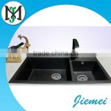 stone bathrom pedestal sinks,Double Bowl Quartz Stone Kitchen Sink,Composite stone quartz kitchen sinko