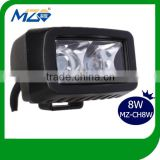 Guangzhou Mingzhi Brand 8W Rechargeable Cree LED Work Light for Truck Waterproof