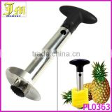 Easy Kitchen Tool Stainless Steel Fruit Pineapple Corer Slicer Cutter Peeler Made in China