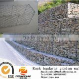 China factory railway protective gabion mesh fences road isolation stone gabion baskets wall rock baskets wire mesh gabion