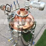 4''copper still home brewery distiller equipmentm with liquid agitator motor