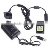 4800mAh Battery pack & Charger Cable Kit For Xbox 360