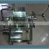 MHCR-100 Stainless steel Coconut milk filter press equipment
