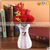 China factory supplier cheap plastic vase