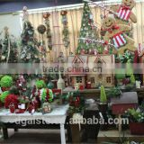 mini / huge artificial christmas pine tree / ring / flower for home / hotel / office (new christmas combination of Este-003 )
