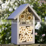 two layer Wooden Insect hotel for bee and ladybird