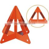 Foldable quadrangular pyramid practical high stability safety warning reflective triangle